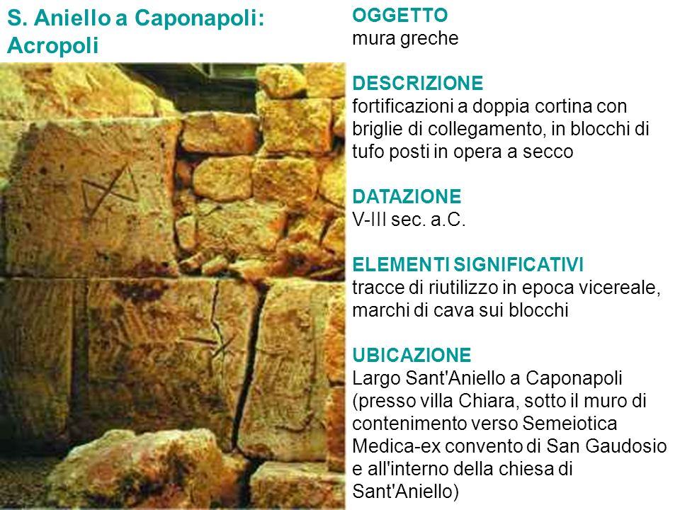 S. Aniello a Caponapoli: Acropoli