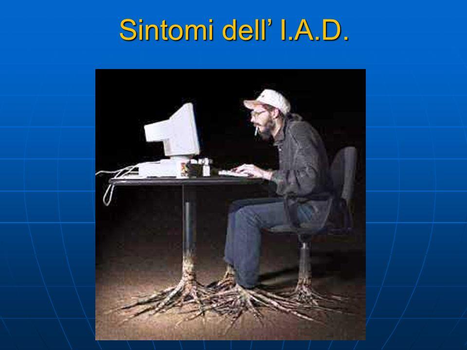 Sintomi dell' I.A.D. 15