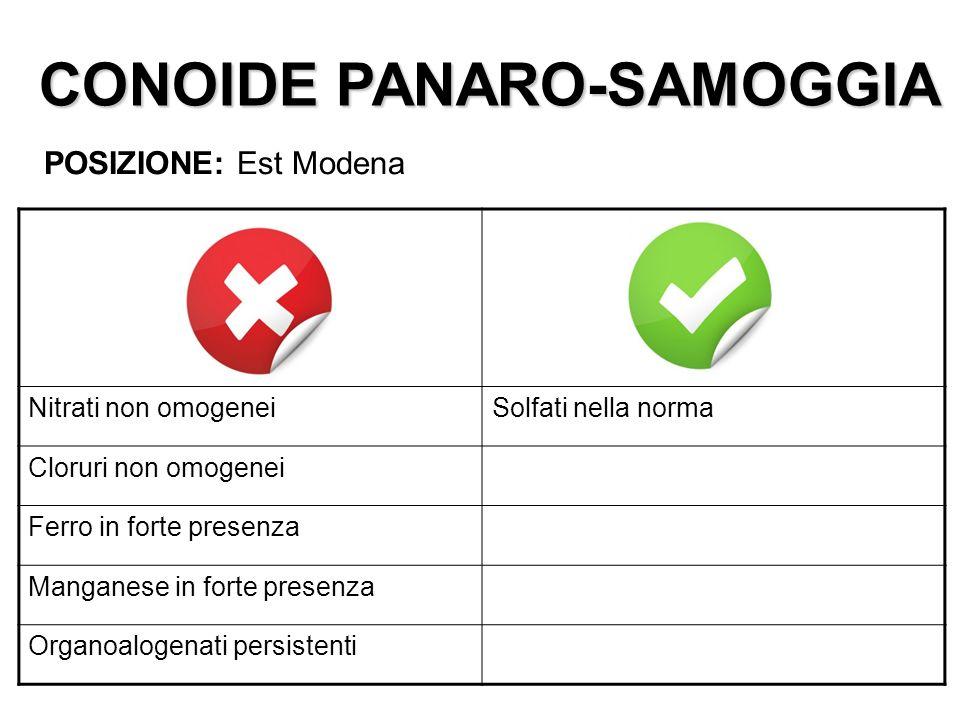 CONOIDE PANARO-SAMOGGIA