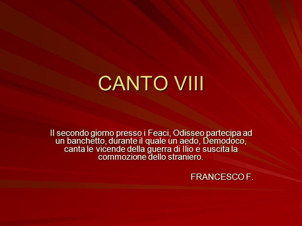 CANTO VIII