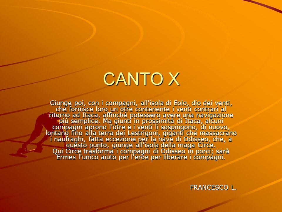 CANTO X