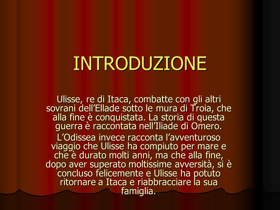 INTRODUZIONE