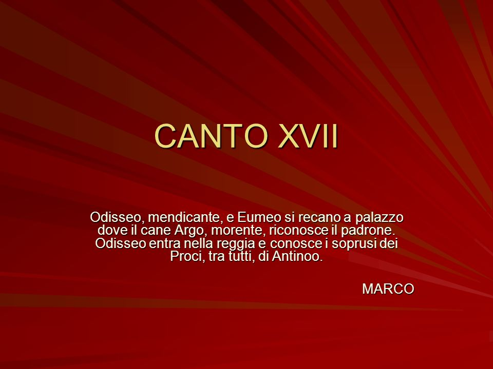 CANTO XVII