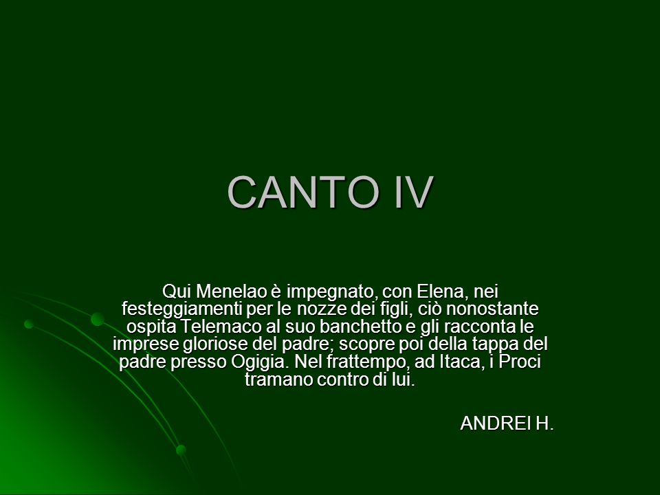 CANTO IV