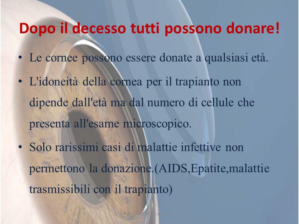 Dopo il decesso tutti possono donare!