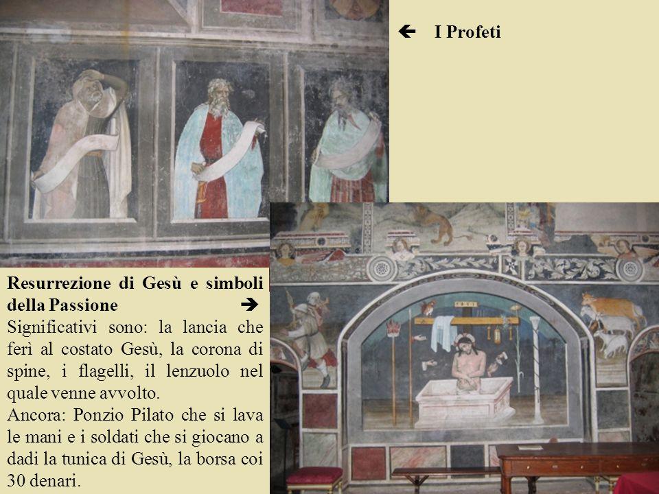  I Profeti Resurrezione di Gesù e simboli della Passione 