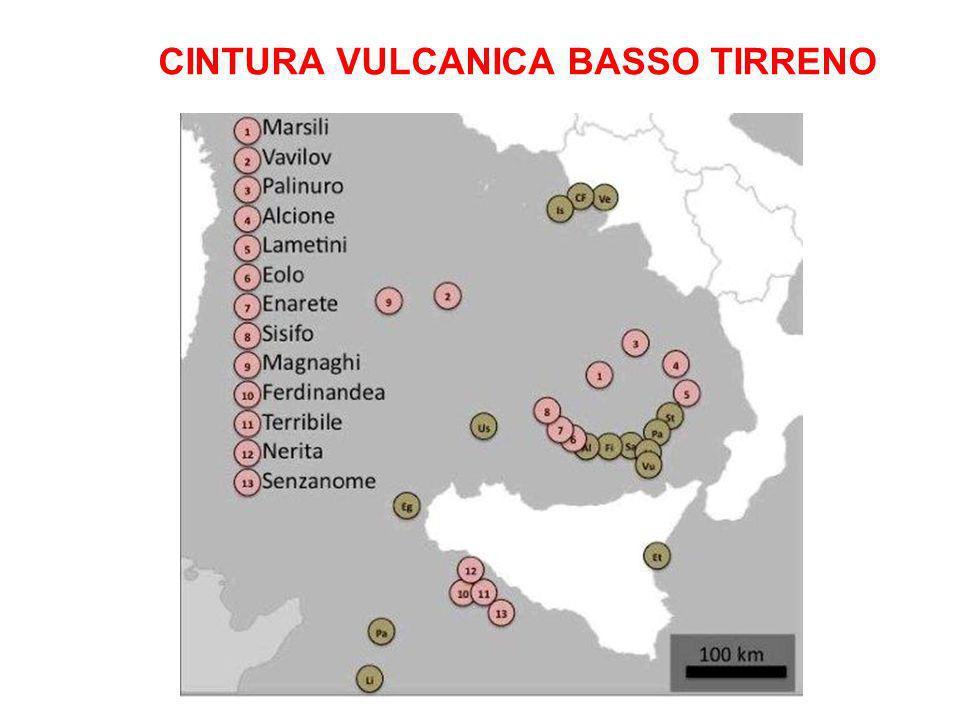 CINTURA VULCANICA BASSO TIRRENO