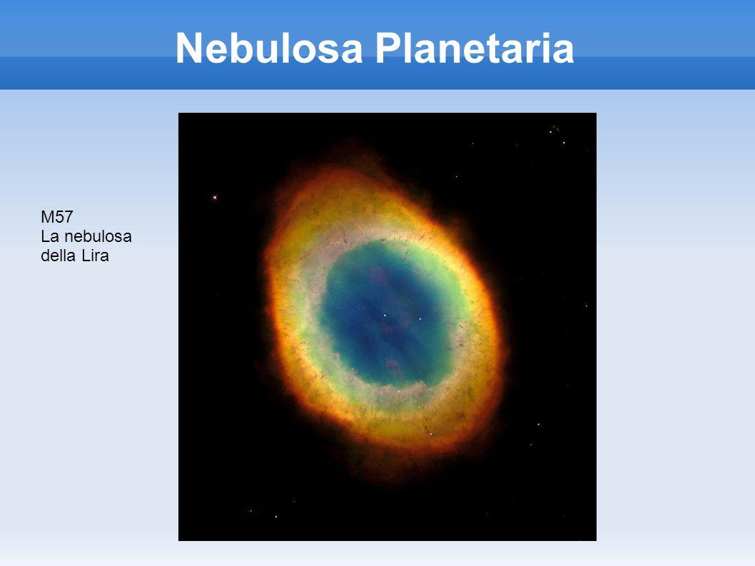 Nebulosa Planetaria M57 La nebulosa della Lira