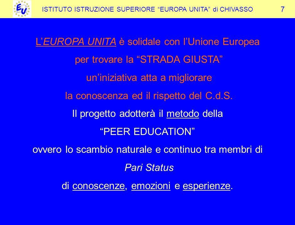 L'EUROPA UNITA è solidale con l'Unione Europea