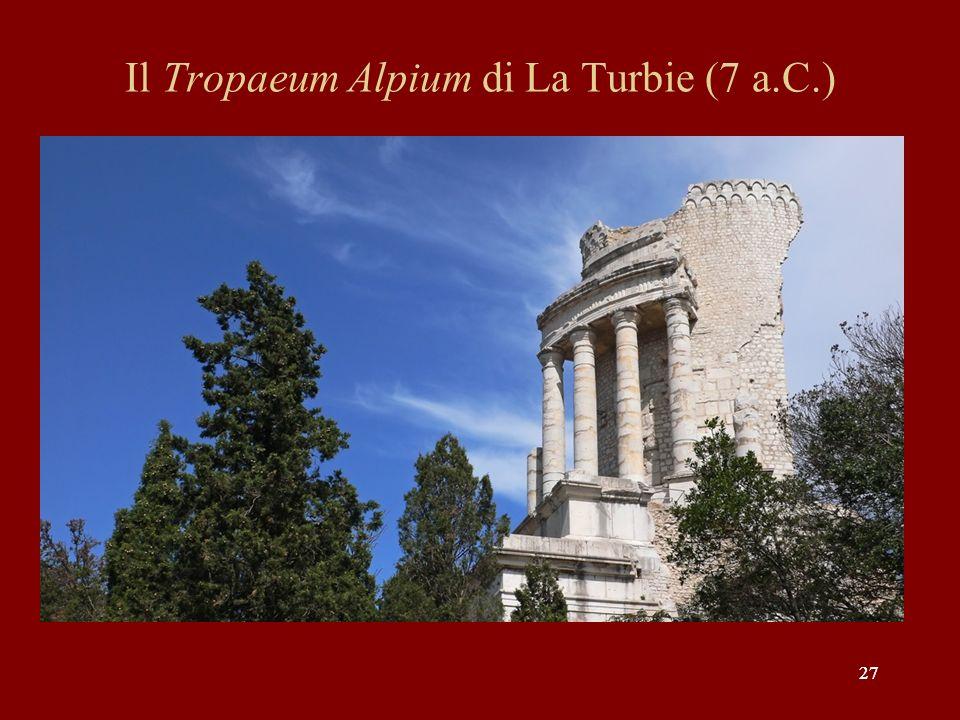 Il Tropaeum Alpium di La Turbie (7 a.C.)