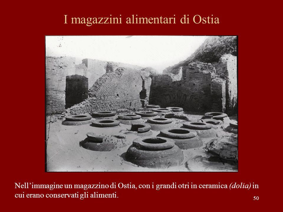 I magazzini alimentari di Ostia