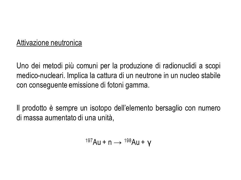 Attivazione neutronica