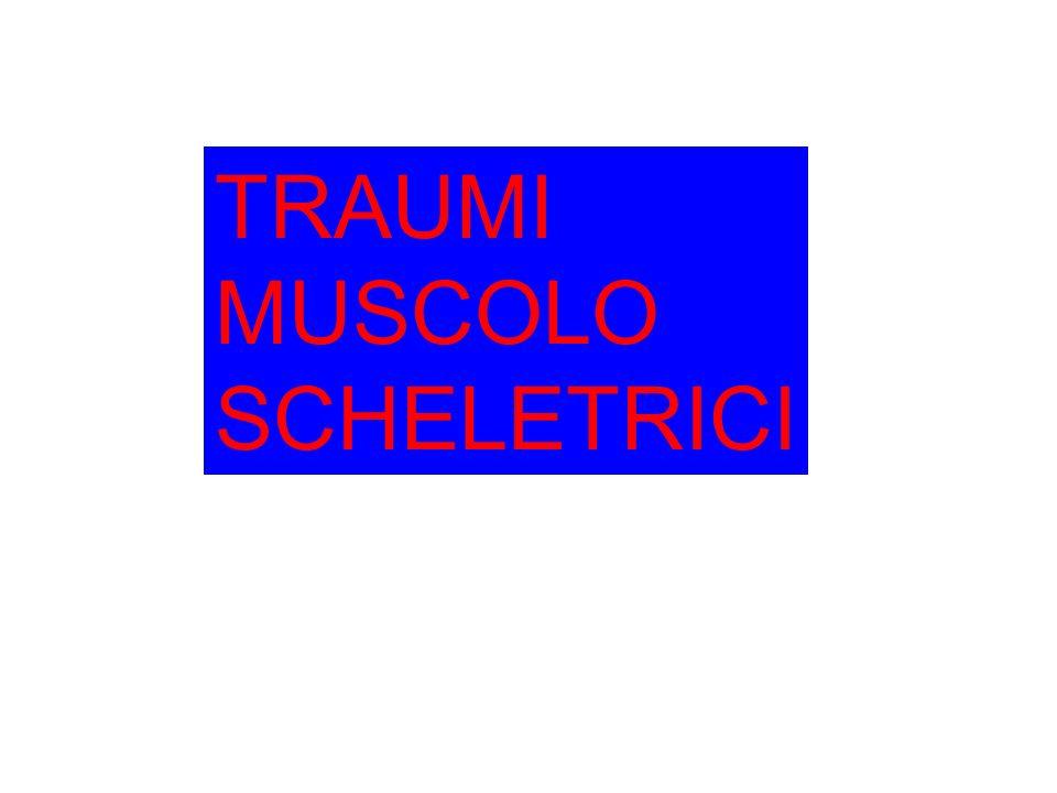TRAUMI MUSCOLO SCHELETRICI