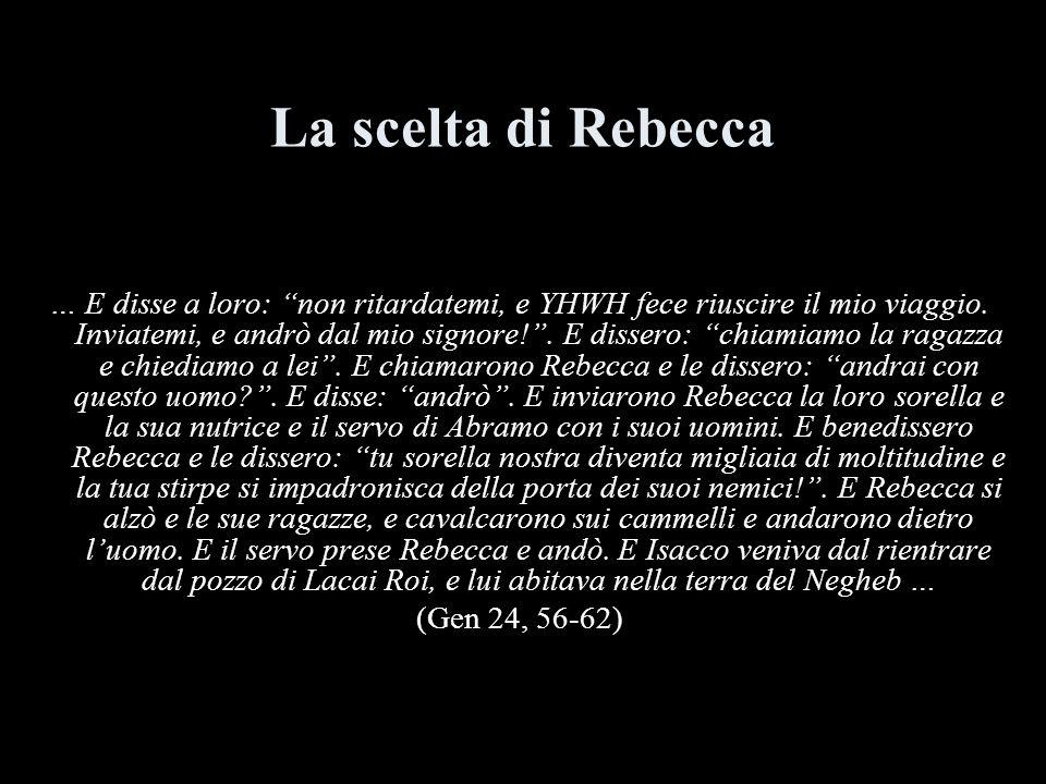 La scelta di Rebecca