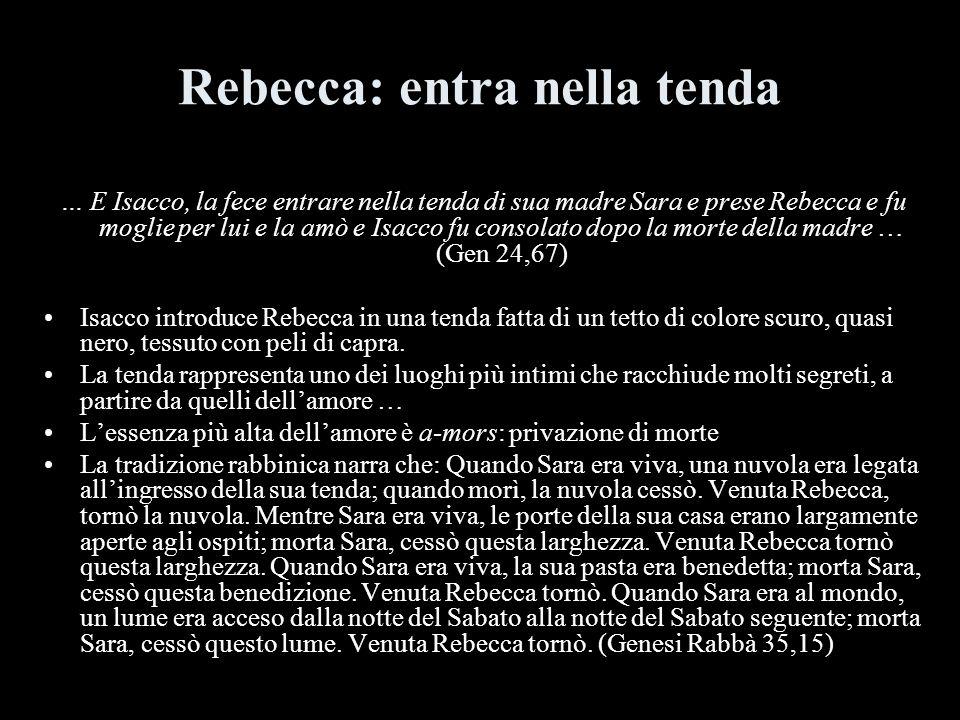 Rebecca: entra nella tenda