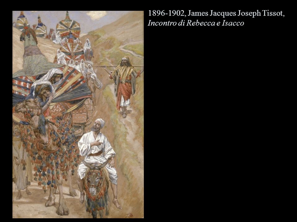 , James Jacques Joseph Tissot, Incontro di Rebecca e Isacco