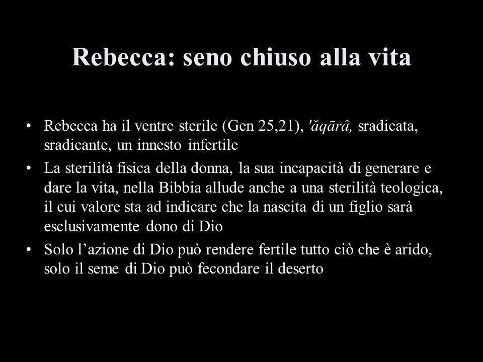 Rebecca: seno chiuso alla vita