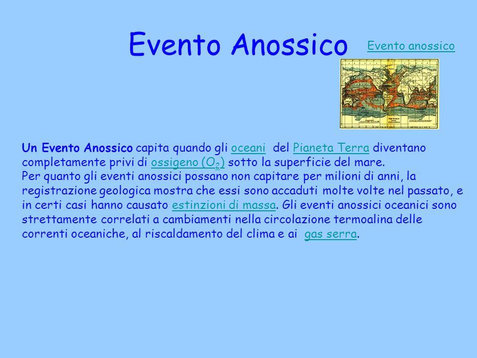 Evento Anossico Evento anossico