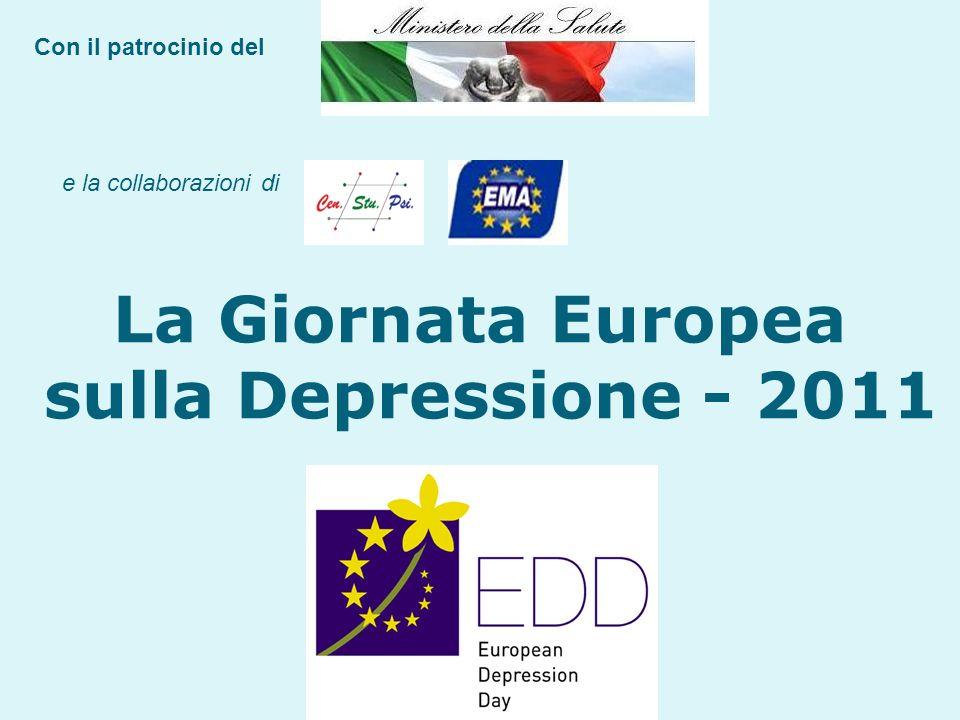 La Giornata Europea sulla Depressione - 2011