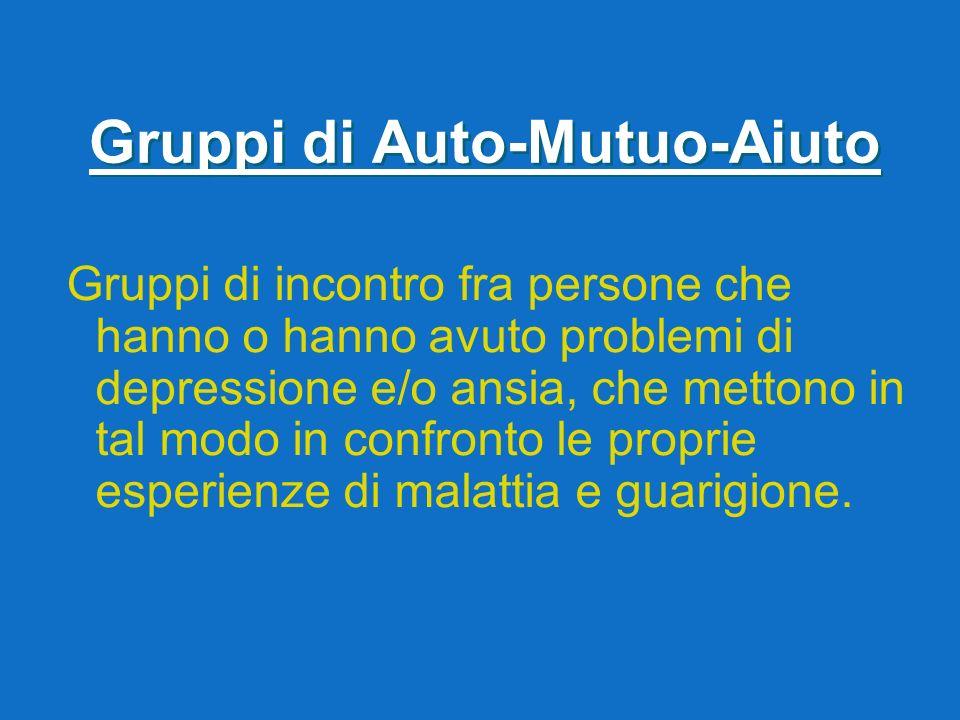 Gruppi di Auto-Mutuo-Aiuto