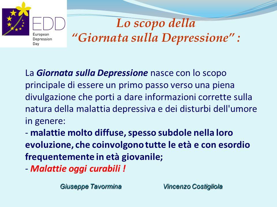 Lo scopo della Giornata sulla Depressione :