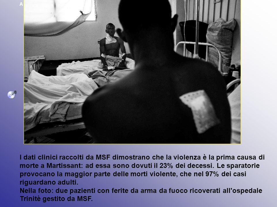 A Martissant (Haiti) la violenza è la prima causa di morte.