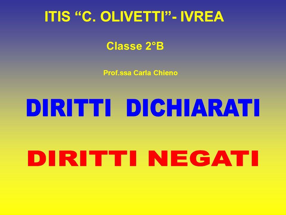 ITIS C. OLIVETTI - IVREA ITIS C. OLIVETTI - IVREA