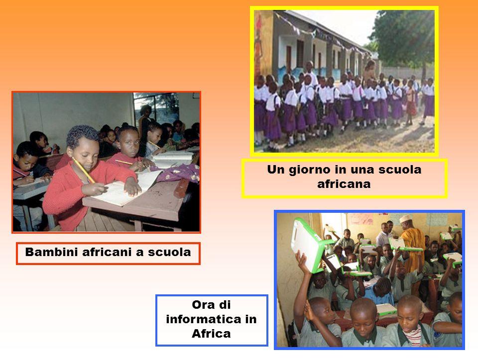 Un giorno in una scuola africana