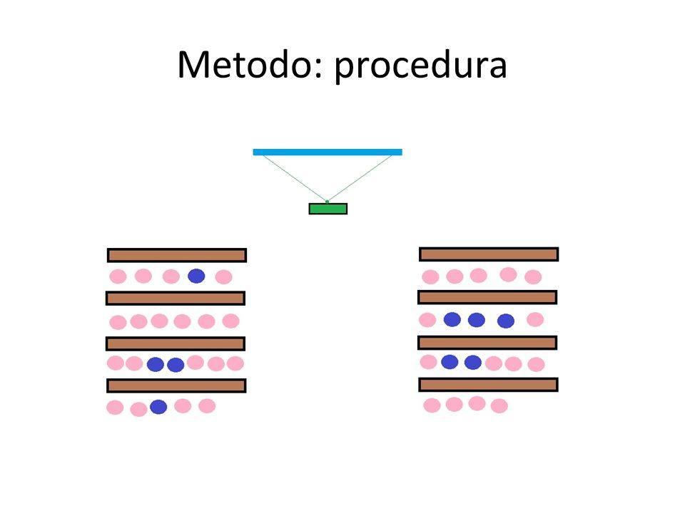 Metodo: procedura
