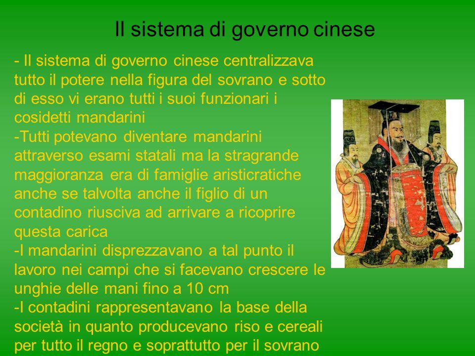 Il sistema di governo cinese