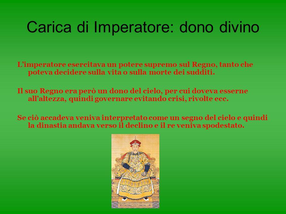 Carica di Imperatore: dono divino