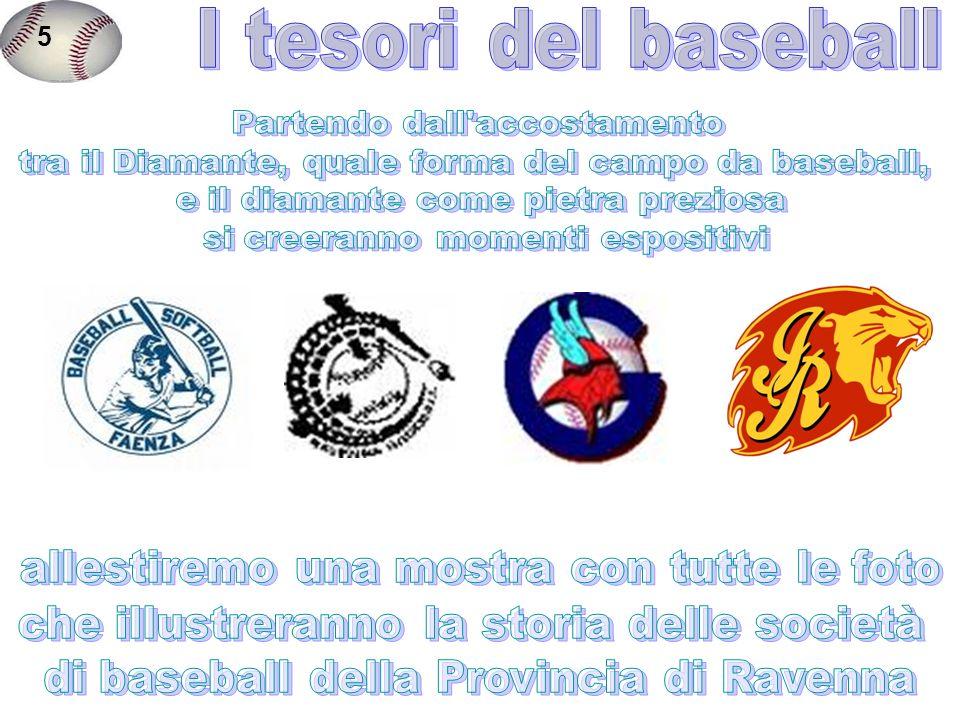 5 I tesori del baseball Partendo dall accostamento