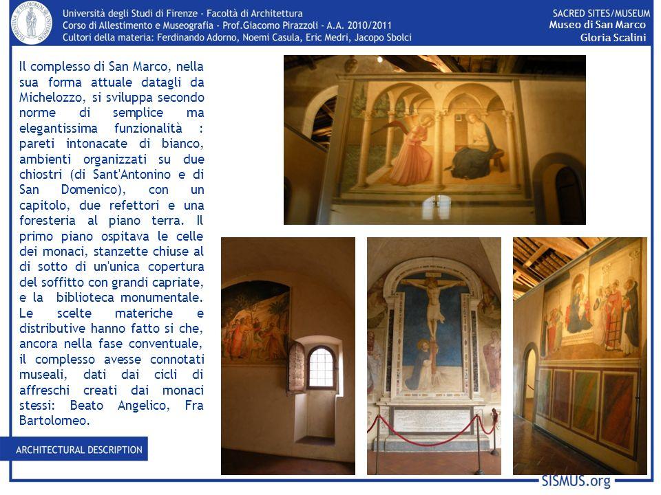 Museo di San Marco Gloria Scalini.