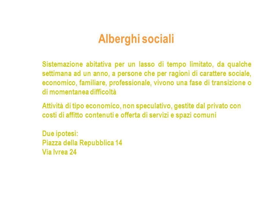 Alberghi sociali