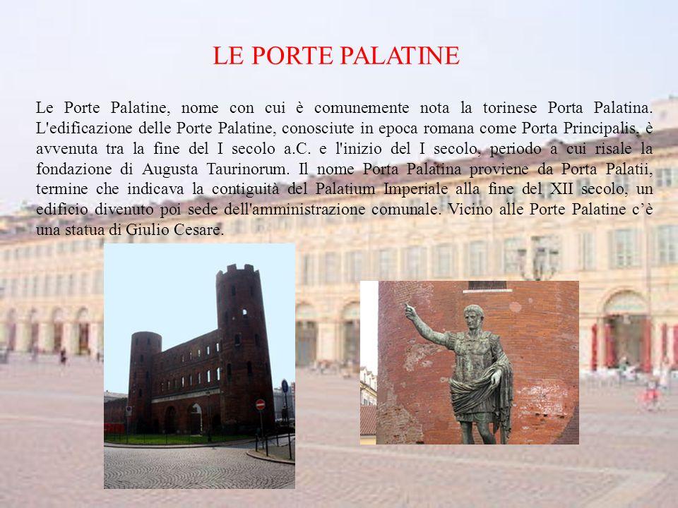 LE PORTE PALATINE