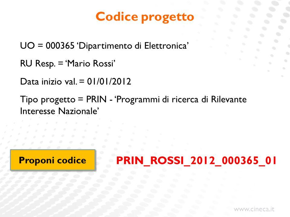 Codice progetto PRIN_ROSSI_2012_000365_01