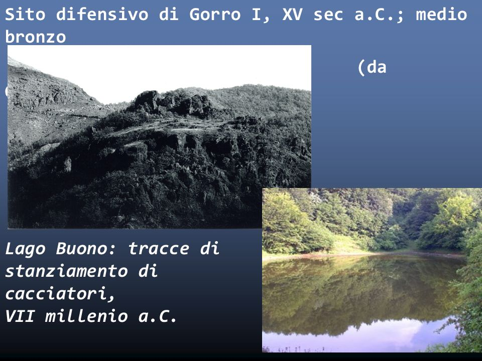 Sito difensivo di Gorro I, XV sec a. C