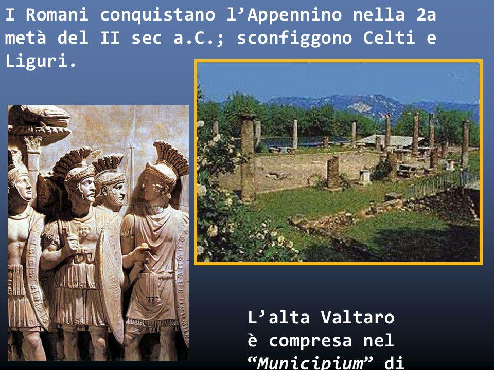I Romani conquistano l'Appennino nella 2a metà del II sec a. C