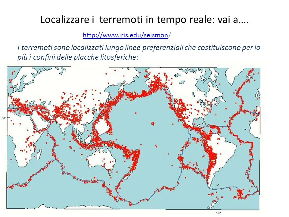 Localizzare i terremoti in tempo reale: vai a….
