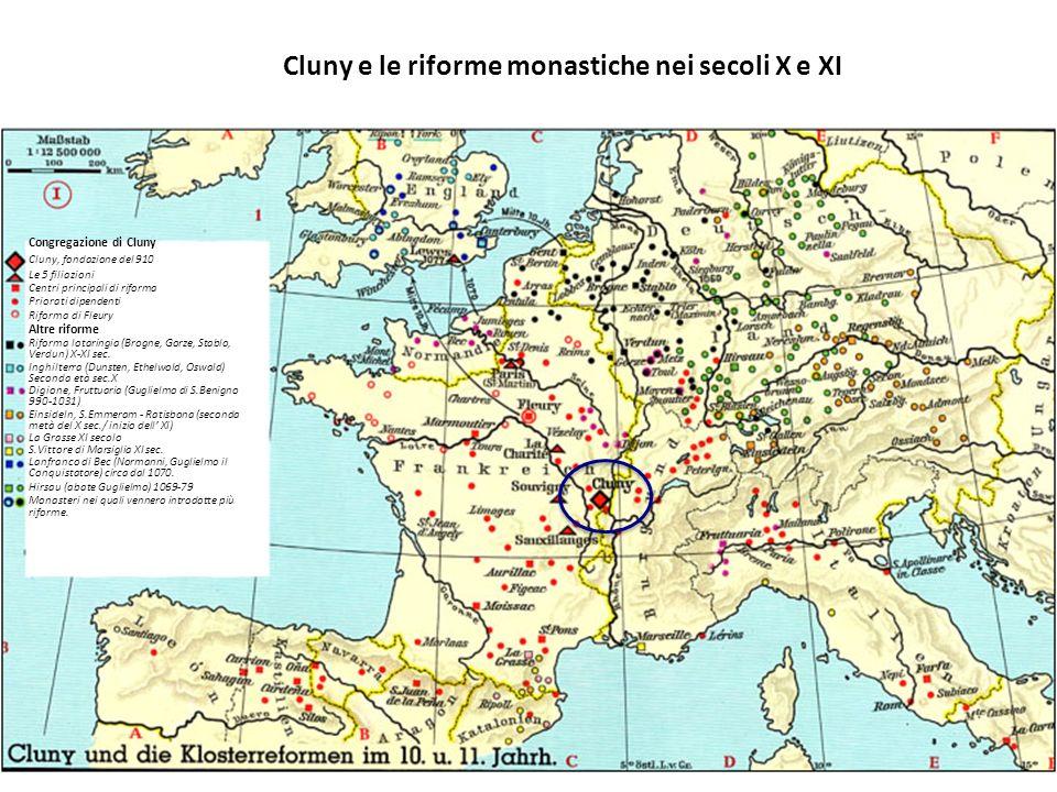 Cluny e le riforme monastiche nei secoli X e XI