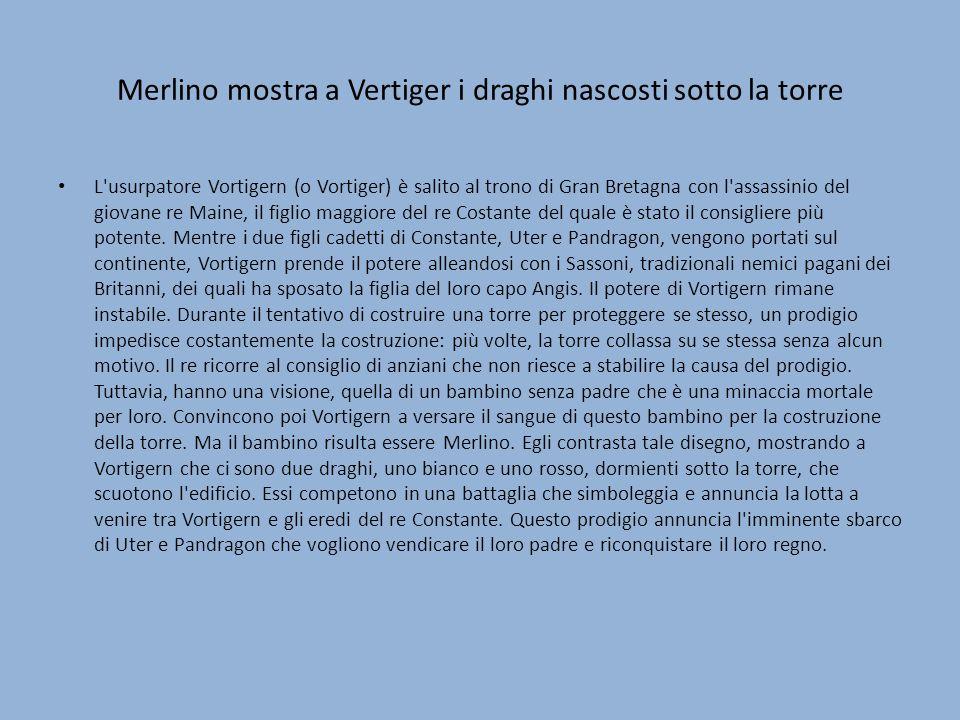 Merlino mostra a Vertiger i draghi nascosti sotto la torre