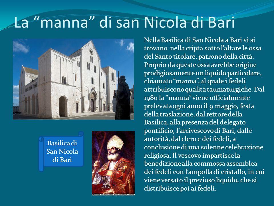 La manna di san Nicola di Bari