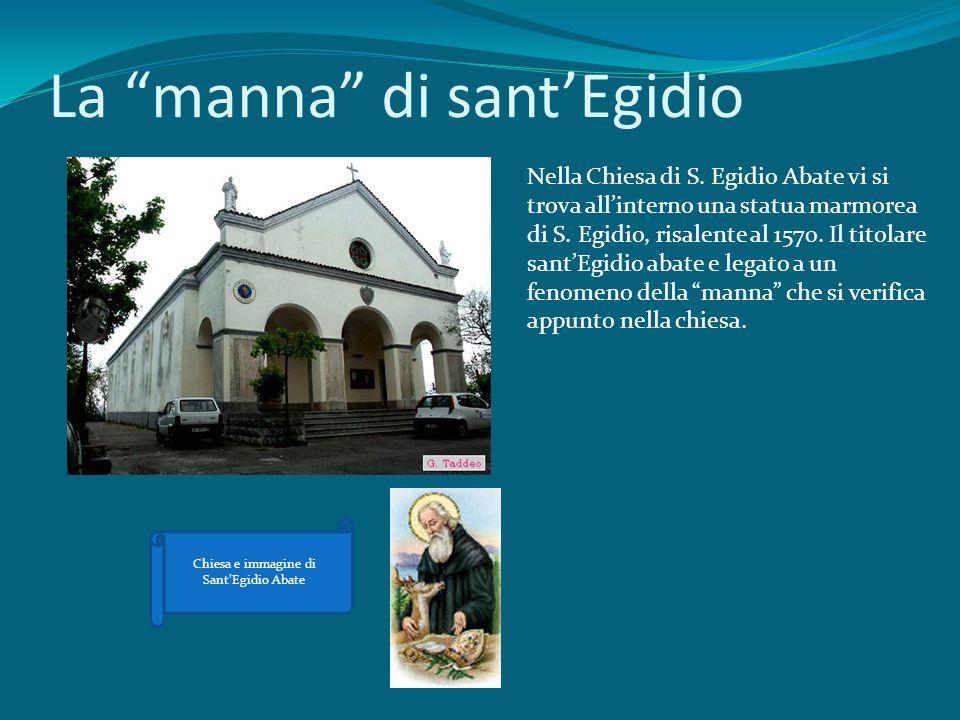 La manna di sant'Egidio
