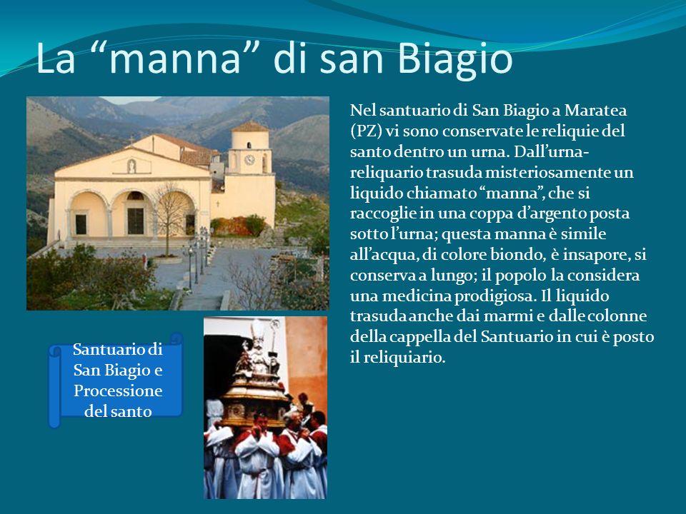 La manna di san Biagio