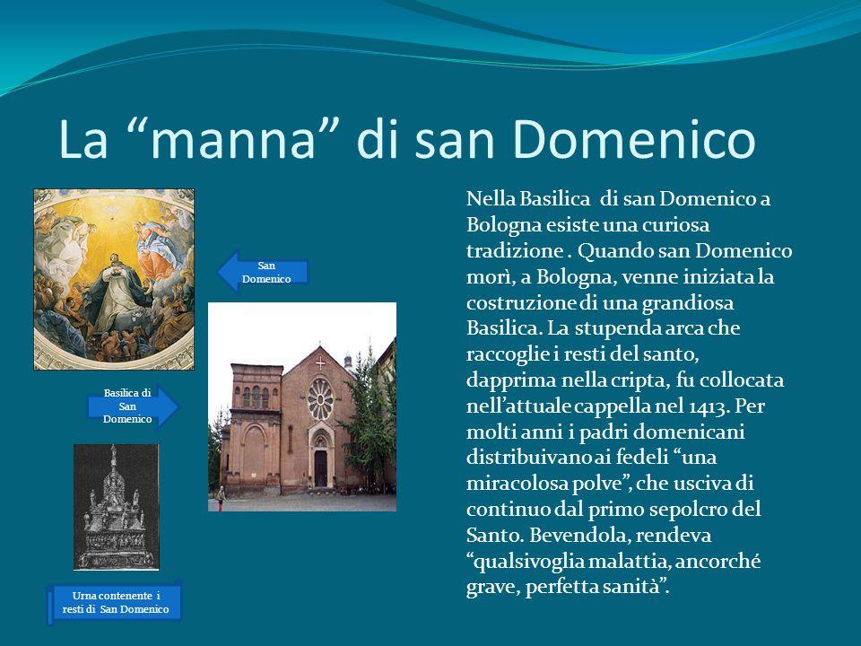 La manna di san Domenico