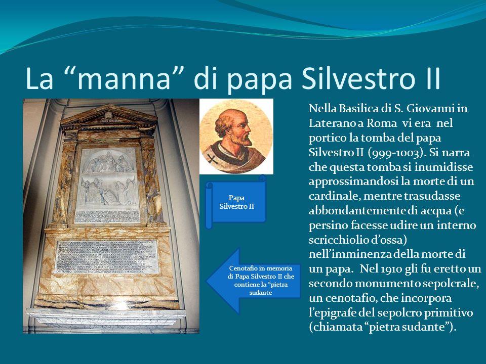 La manna di papa Silvestro II