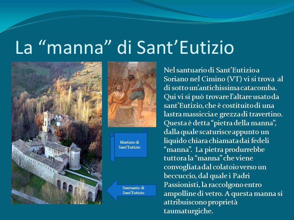 La manna di Sant'Eutizio