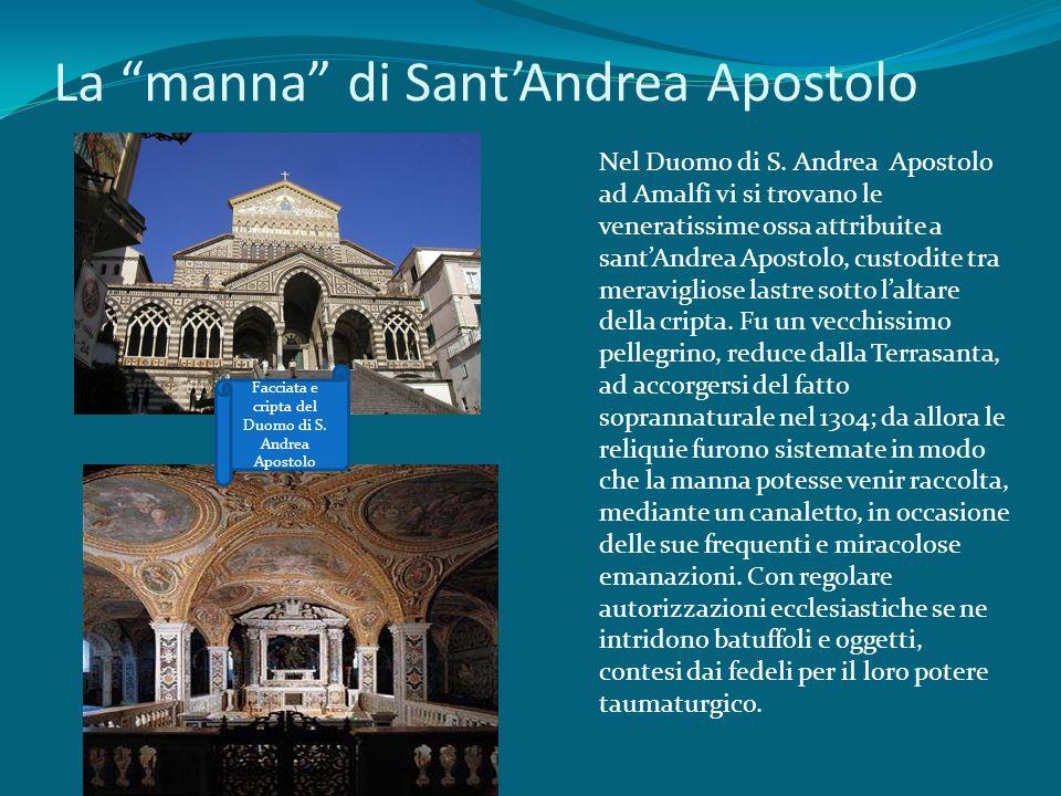La manna di Sant'Andrea Apostolo