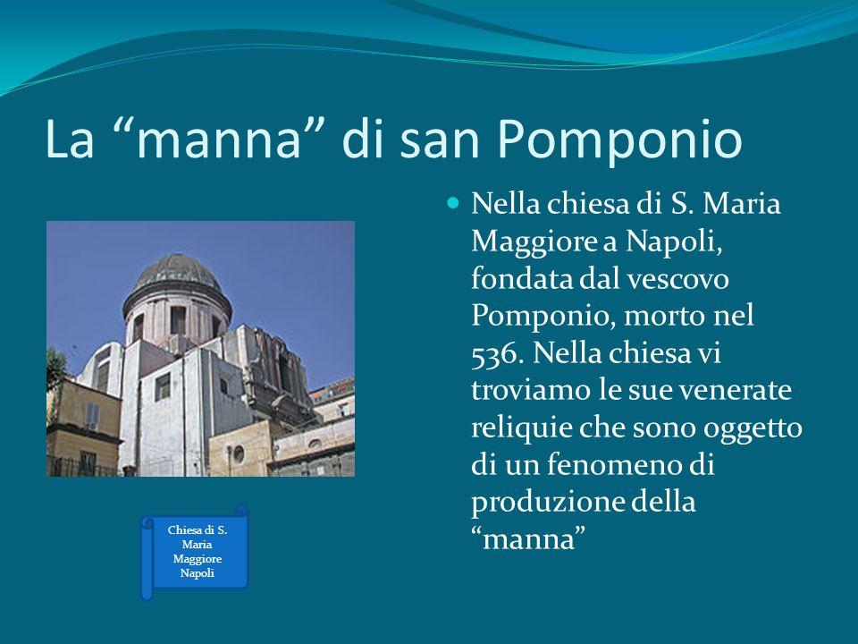 La manna di san Pomponio