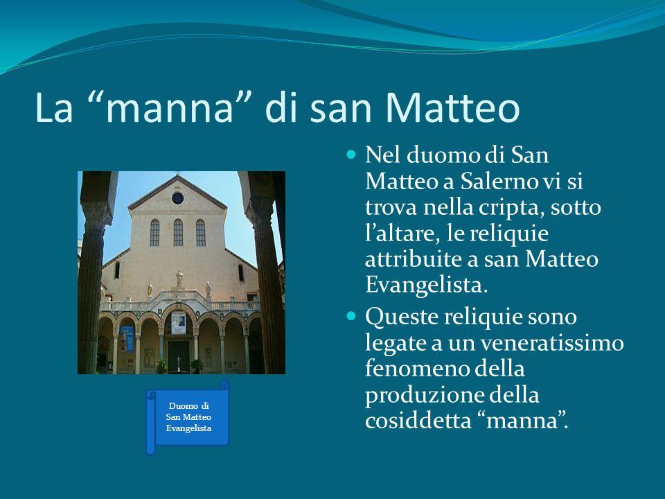 La manna di san Matteo